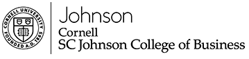 Johnson College of Business website homepage